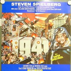 Cine: IP60 1941 STEVEN SPIELBERG JOHN BELUSHI POSTER ORIGINAL 60X84 ALEMAN. Lote 13934815