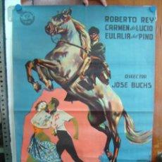 Cine: AVENTURAS DE DON JUAN DE MAIRENA - LITOGRAFIA - AÑO 1960 - ILUST.: --. Lote 26738439