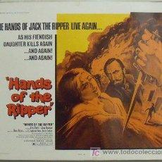 Cine: IL98 LAS MANOS DEL DESTRIPADOR HAMMER JIMMY SANGSTER POSTER ORIGINA USA 55X70. Lote 13704833