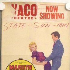 Cine: E1608D BUS STOP MARILYN MONROE POSTER ORIGINAL WINDOW CARD AMERICANO 36X56. Lote 13708937