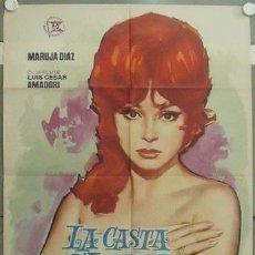 Cine: IP08 LA CASTA SUSANA MARUJITA DIAZ SEXY POSTER ORIGINAL ESTRENO 70X100. Lote 13910655