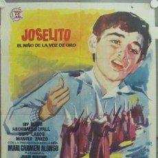 Cine: IP10 SAETA DEL RUISEÑOR JOSELITO POSTER ORIGINAL 70X100 ESTRENO. Lote 13910716