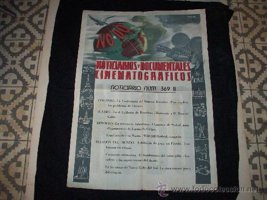 NO-DO – CARTEL PUBLICITARIO (Cine - Posters y Carteles - Documentales)