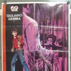 Cine: IQ25 ADIOS GRINGO GIULIANO GEMMA SPAGHETTI POSTER ORIGINAL 70X100 ESPAÑOL. Lote 13949821