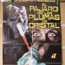 Cine: EL PAJARO DE LAS PLUMAS DE CRISTAL. Lote 16690888