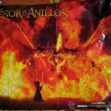 Cine: POSTER DE EL SEÑOR DE LOS ANILLOS. TAMAÑO DIN A 3. Lote 14349607