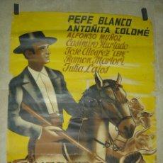 Cine: LA MENTIRA DE LA GLORIA - PEPE BLANCO, ANTOÑITA COLOMÉ - LITOGRAFIA - AÑO 1946 - ILUSTRADOR: -. Lote 27114714
