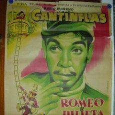 Cine: ROMEO Y JULIETA - CANTINFLAS - AÑO 1955 - LITOGRAFIA - ILUSTRADOR: ALBERICIO. Lote 26895689