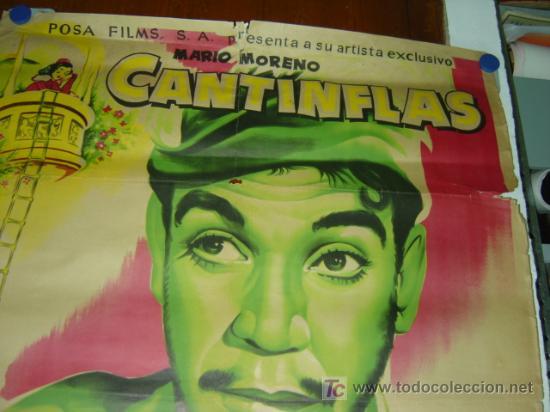 Cine: ROMEO Y JULIETA - CANTINFLAS - AÑO 1955 - LITOGRAFIA - ILUSTRADOR: ALBERICIO - Foto 2 - 26895689