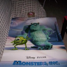 Cine: POSTER DE LA PELICULA MONSTERS INC - DISNEY PIXAR	. Lote 24160766