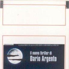Cine: GY51 NON HO SONNO SLEEPLESS DARIO ARGENTO POSTER ORIGINAL ITALIANO 33X70. Lote 14528864