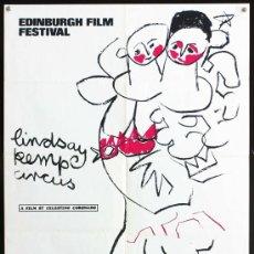 Cinéma: THE LINDSAY KEMP CIRCUS - 1973 - CELESTINO CORONADO - EDIMBURG FILM FESTIVAL - POSTER ORIGINAL UK. Lote 14611656