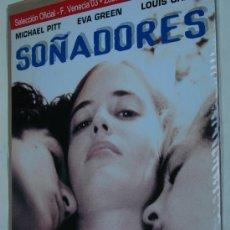 Cine: SOÑADORES THE DREAMERS - POSTER CARTEL ORIGINAL - EVA GREEN LOUIS GARREL BERNARDO BERTOLUCCI. Lote 295454823