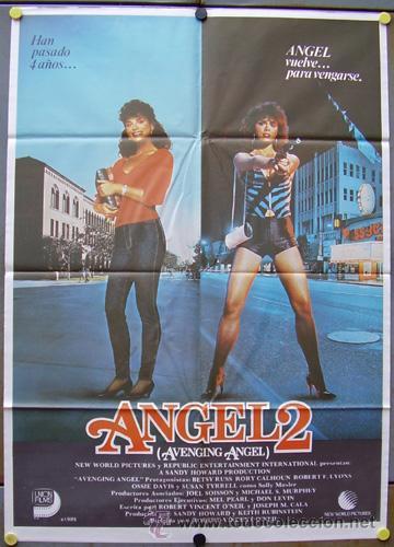 SC82 ANGEL 2 BETSY RUSSELL POSTER ORIGINAL ESTRENO 70X100 (Cine - Posters y Carteles - Acción)