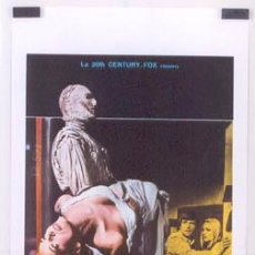 Cine: EX94 THE MUMMY'S SHROUD HAMMER JOHN GILLING POSTER ORIGINAL ITALIANO 33X70. Lote 16574607