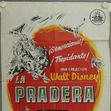 Cine: JN60 LA PRADERA WALT DISNEY POSTER ORIGINAL 70X100 ESTRENO LITOGRAFIA. Lote 14993630