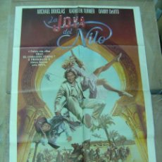 Cinema: LA JOYA DEL NILO, AÑO 1985, MICHAEL DOUGLAS. Lote 15004333