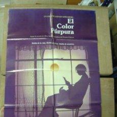 Cine: EL COLOR PURPURA, DIR.: STEVEN SPIELBERG - AÑO 1985. Lote 120195875