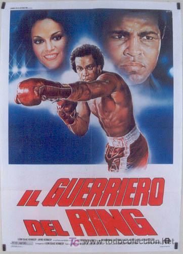 JO20 CUERPO Y ALMA MUHAMMAD ALI CASSIUS CLAY BOXEO POSTER ORIGINAL ITALIANO 100X140 (Cine - Posters y Carteles - Deportes)