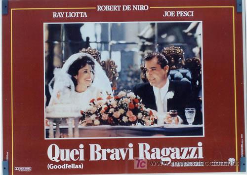 Cine: JO59 UNO DE LOS NUESTROS ROBERT DE NIRO MARTIN SCORSESE JOE PESCI SET DE 8 POSTER ITALIANOS 47X68 - Foto 5 - 15060846