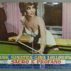 Cine: JP17 GINA LOLLOBRIGIDA CUANDO HIERVE LA SANGRE POSTER BILLAR ORIGINAL ITALIANO 47X68. Lote 15091565
