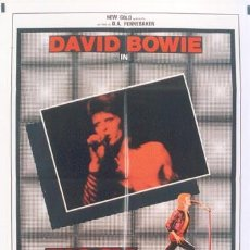Cine: QT42 ZIGGY STARDUST AND THE SPIDERS FROM MARS DAVID BOWIE POSTER ORIGINAL 100X140 ITALIANO. Lote 15095285