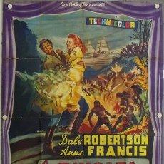 Cine: YE57D REVUELTA EN HAITI ANNE FRANCIS DALE ROBERTSON POSTER ORIGINAL ITALIANO 140X200. Lote 20049821
