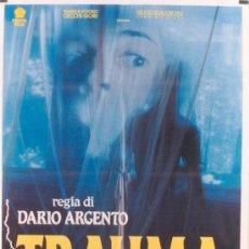 Cine: JQ00 TRAUMA DARIO ARGENTO ASIA ARGENTO POSTER ORIGINAL ITALIANO 100X140. Lote 15137632