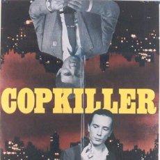 Cine: JQ09 COPKILLER HARVEY KEITEL JOHNNY ROTTEN SEX PISTOLS GIALLO POSTER ORIGINAL ITALIANO 100X140. Lote 15145640