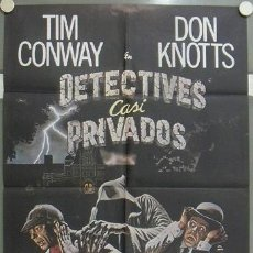 Cine: JQ21 DETECTIVES CASI PRIVADOS SHERLOCK HOLMES DON KNOTTS TIM CONWAY POSTER ORIGINAL 70X100 ESTRENO. Lote 15163854