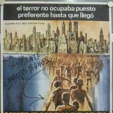 Cine: JQ81 NUEVA YORK BAJO EL TERROR DE LOS ZOMBI LUCIO FULCI POSTER ORIGINAL 70X100 ESTRENO. Lote 15189849