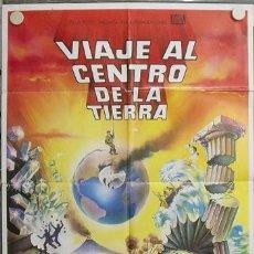 Cine: JR16 VIAJE AL CENTRO DE LA TIERRA JAMES MASON JULIO VERNE POSTER ORIGINAL 70X100 ESPAÑOL. Lote 15193636