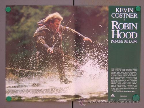 Cine: ET35 ROBIN HOOD PRINCIPE DE LOS LADRONES KEVIN COSTNER SET 6 POSTERS ORIGINAL ITALIANO 47X68 - Foto 2 - 15211190