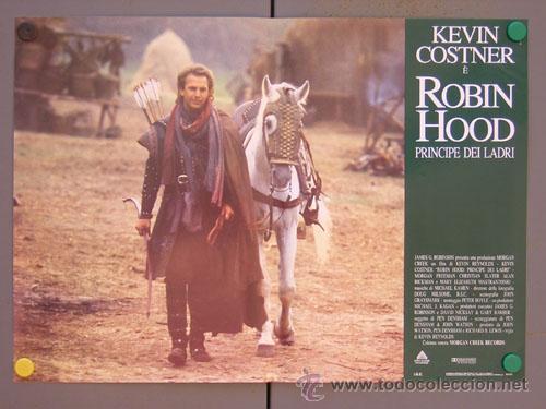 Cine: ET35 ROBIN HOOD PRINCIPE DE LOS LADRONES KEVIN COSTNER SET 6 POSTERS ORIGINAL ITALIANO 47X68 - Foto 5 - 15211190