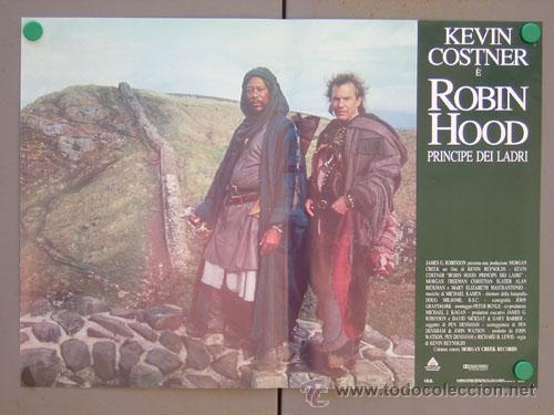 Cine: ET35 ROBIN HOOD PRINCIPE DE LOS LADRONES KEVIN COSTNER SET 6 POSTERS ORIGINAL ITALIANO 47X68 - Foto 6 - 15211190