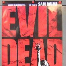 Cine: E310D POSESION INFERNAL EVIL DEAD SAM RAIMI POSTER ORIGINAL ESPAÑOL 70X100. Lote 15231044