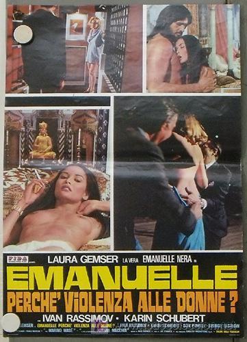 VF42D EMANUELLE ALREDEDOR DEL MUNDO LAURA GEMSER JOE D'AMATO DESNUDA POSTER ORIGINAL ITALIANO 47X68 (Cine- Posters y Carteles - Drama)