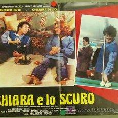Cine: JT64 THE POOL HUSTLERS / IO CHIARA E LO SCURO BILLAR POSTER ORIGINAL 47X68 ITALIANO. Lote 15283668