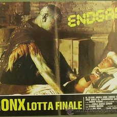 Cine: QO94 BRONX LUCHA FINAL JOE D'AMATO AL CLIVER SET 6 POSTERS ORIGINAL ITALIANO 47X68. Lote 15325838