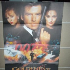 Cine: GOLDENEYE JAMES BOND 007 PIERCE BROSNAN POSTER ORIGINAL 70X100. Lote 60528687