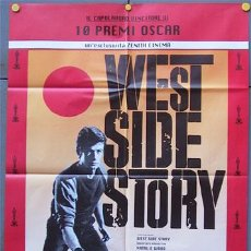 Cine: JX03 WEST SIDE STORY NATALIE WOOD POSTER ORIGINAL ITALIANO 100X140. Lote 15453409