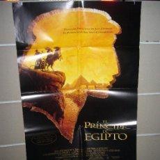Cine: EL PRINCIPE DE EGIPTO POSTER ORIGINAL 70X100 Q. Lote 15466183