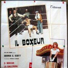 Cine: YG83D MOVIE MOVIE STANLEY DONEN BOXEO POSTER ORIGINAL ITALIANO 140X200. Lote 15487004