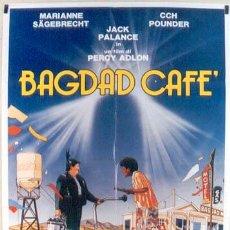 Cine: JX45 BAGDAD CAFE PERCY ADLON MARIANNE SAGEBRECHT JACK PALANCE POSTER ORIGINAL ITALIANO 100X140. Lote 15488324