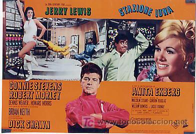 Cine: JX32 UN CHALADO EN ORBITA JERRY LEWIS SET DE 10 POSTERS ORIGINAL 47X68 ITALIANO - Foto 6 - 15487119