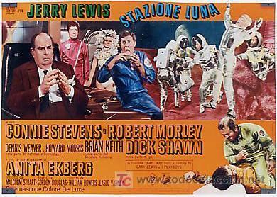 Cine: JX32 UN CHALADO EN ORBITA JERRY LEWIS SET DE 10 POSTERS ORIGINAL 47X68 ITALIANO - Foto 9 - 15487119