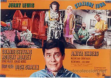 Cine: JX32 UN CHALADO EN ORBITA JERRY LEWIS SET DE 10 POSTERS ORIGINAL 47X68 ITALIANO - Foto 8 - 15487119