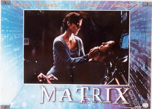 JX64 THE MATRIX KEANU REEVES SET DE 6 POSTERS ITALIANO 47X68 (Cine - Posters y Carteles - Ciencia Ficción)