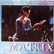 Cine: JX64 THE MATRIX KEANU REEVES SET DE 6 POSTERS ITALIANO 47X68. Lote 15502584