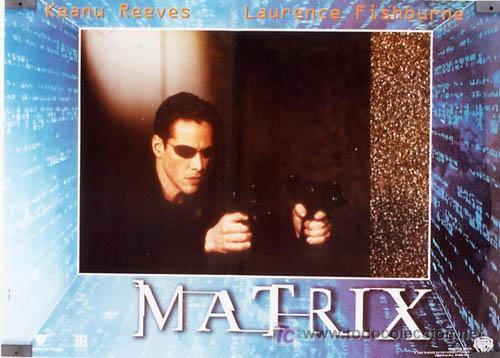 Cine: JX64 THE MATRIX KEANU REEVES SET DE 6 POSTERS ITALIANO 47X68 - Foto 6 - 15502584